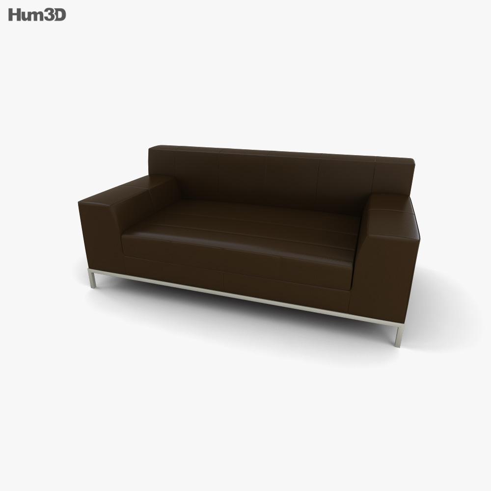 IKEA KRAMFORS Two-Seat sofa 3D model