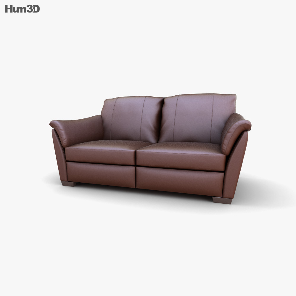IKEA ALVROS Two-Seat sofa 3D model