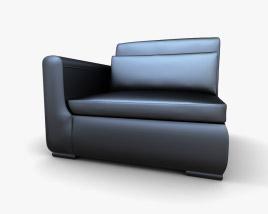 IKEA SMOGEN One-Seat ソファ 3Dモデル