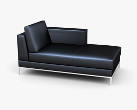 IKEA Arild chaise longue 3D model