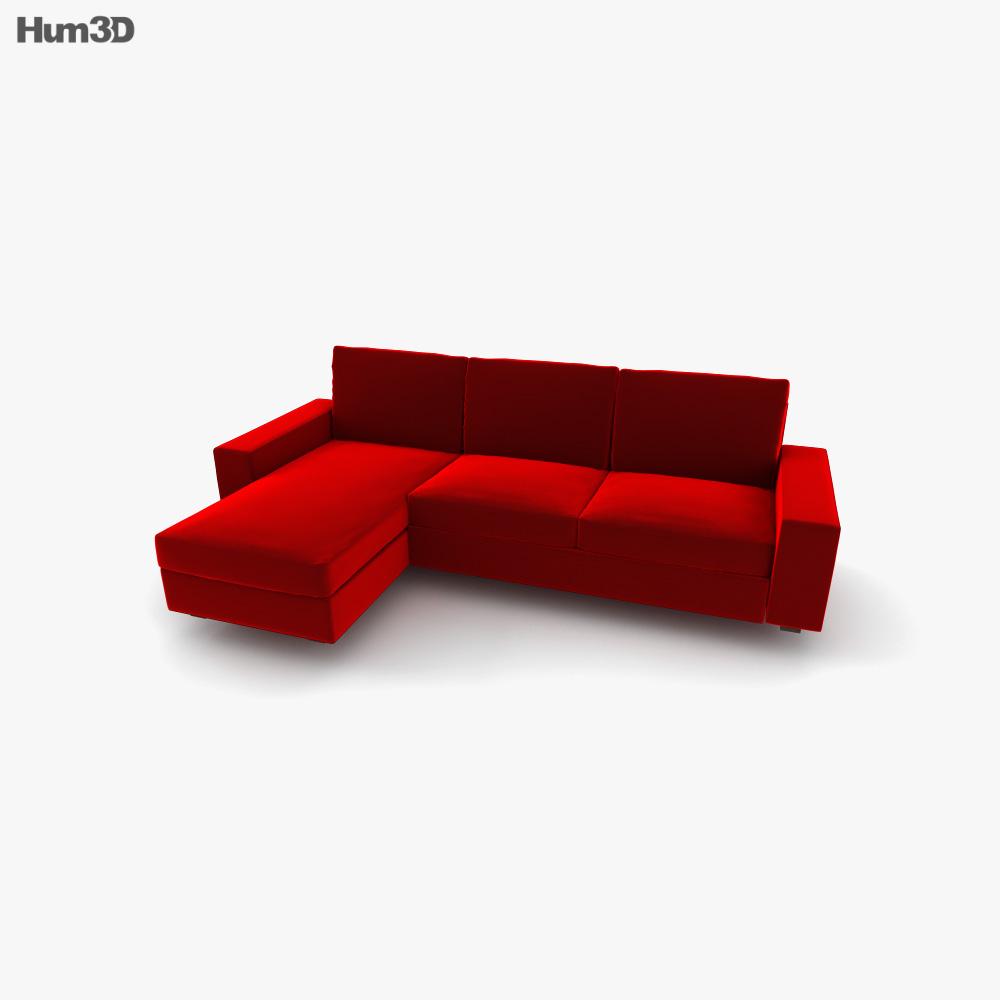 IKEA KIVIK chaise longue 3D model