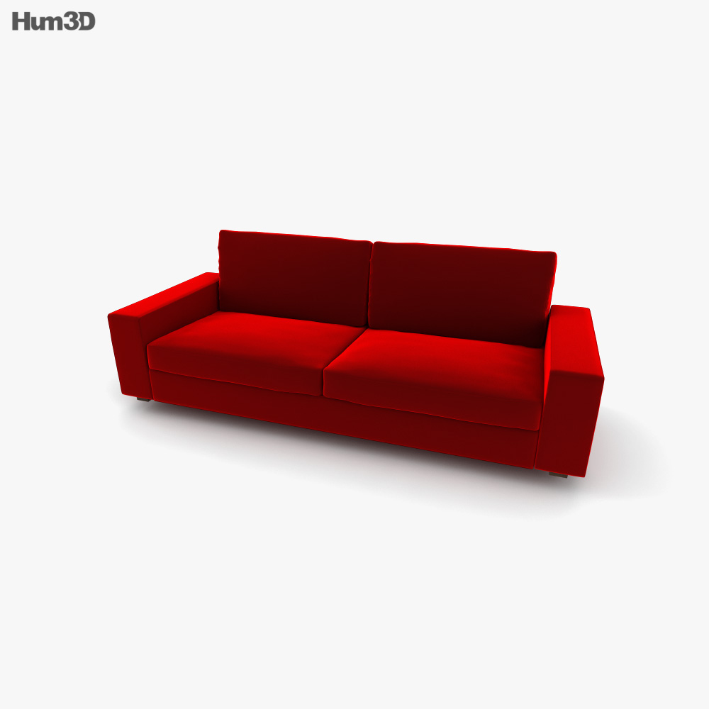 IKEA Kivik Three-Seat sofa 3D model