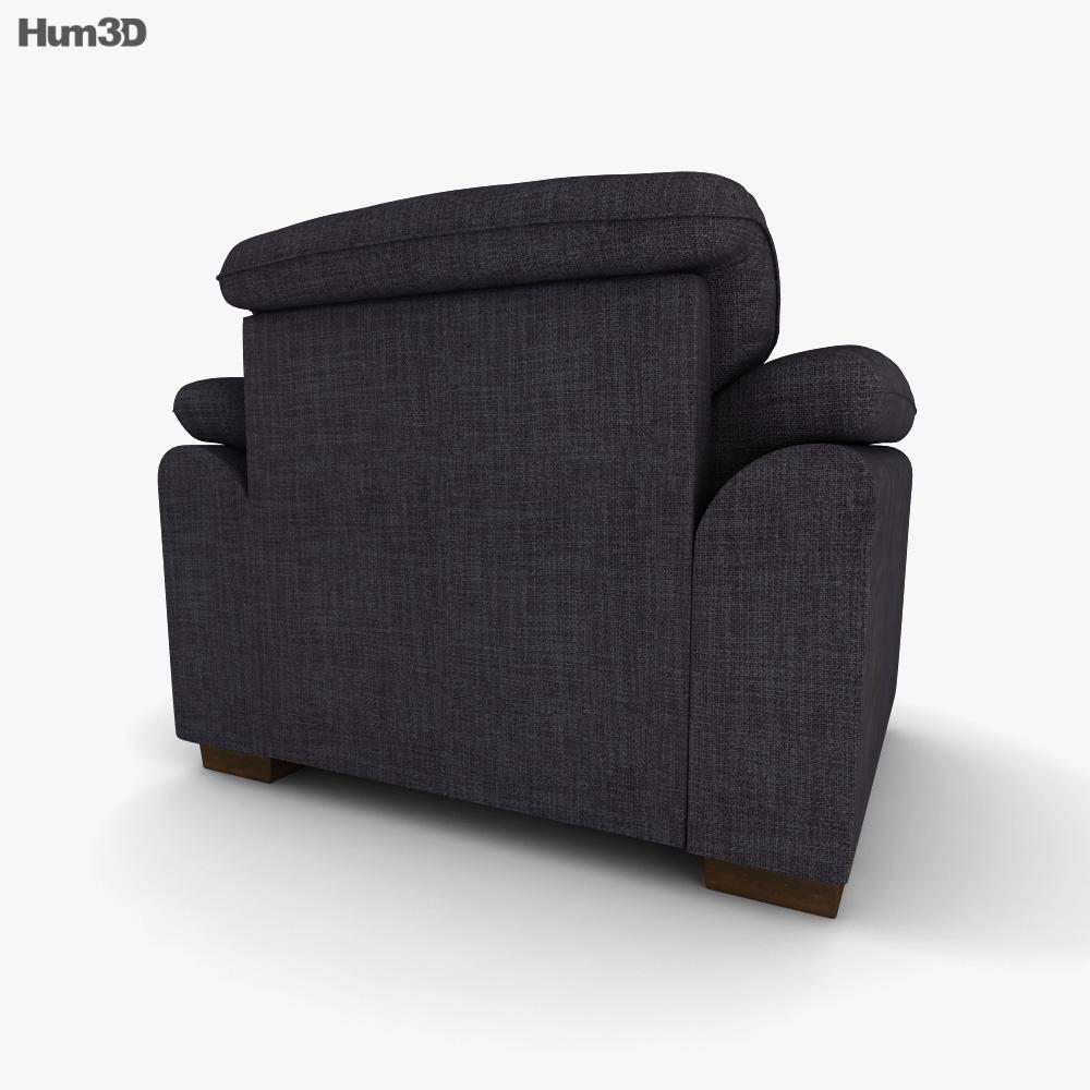 IKEA Tidafors Poltrona Modello 3D