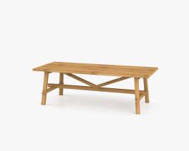 IKEA Mockelby Wood Table 3D model