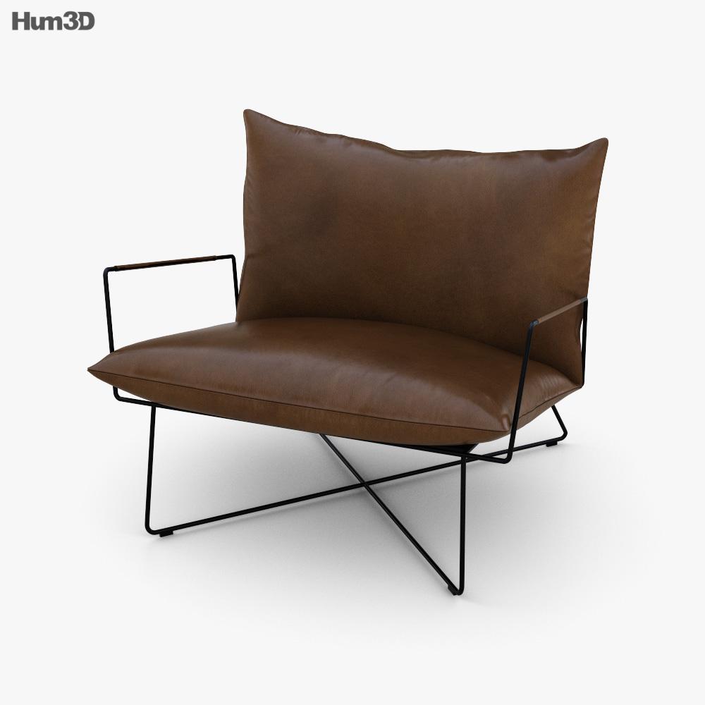 Jess Earl Lounge armchair 3D model