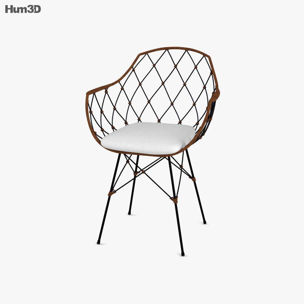Kave Home Endora Chair 3D model
