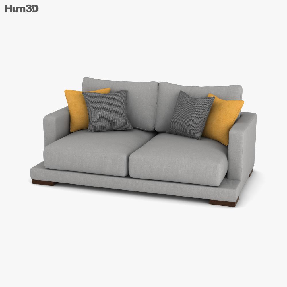 Kenay Home Crate Sofa 3D model