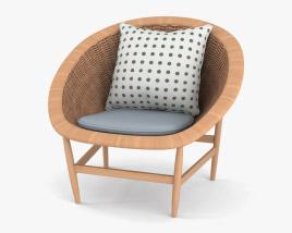 Kettal Basket Chair 3D model