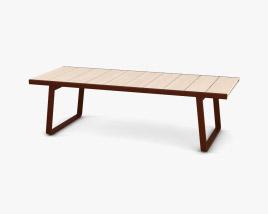 Kettal Bitta Dining table 3D model