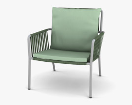 Kettal Net Club Armchair 3D model