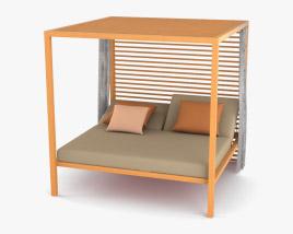 Kettal Daybed Bed 3D model