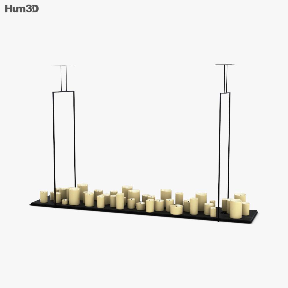 Kevin Reilly Lighting Altar 3D model