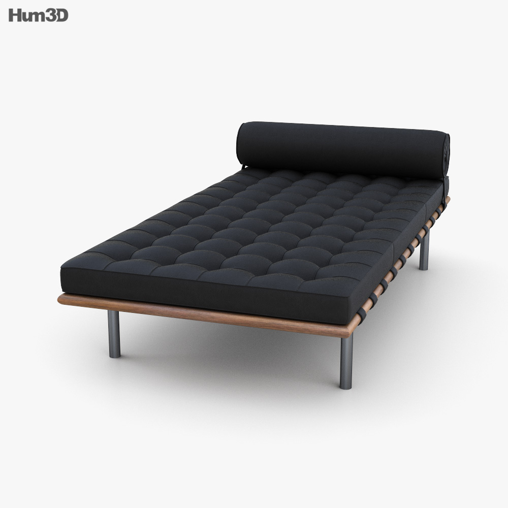Knoll Barcelona Couch 3D model
