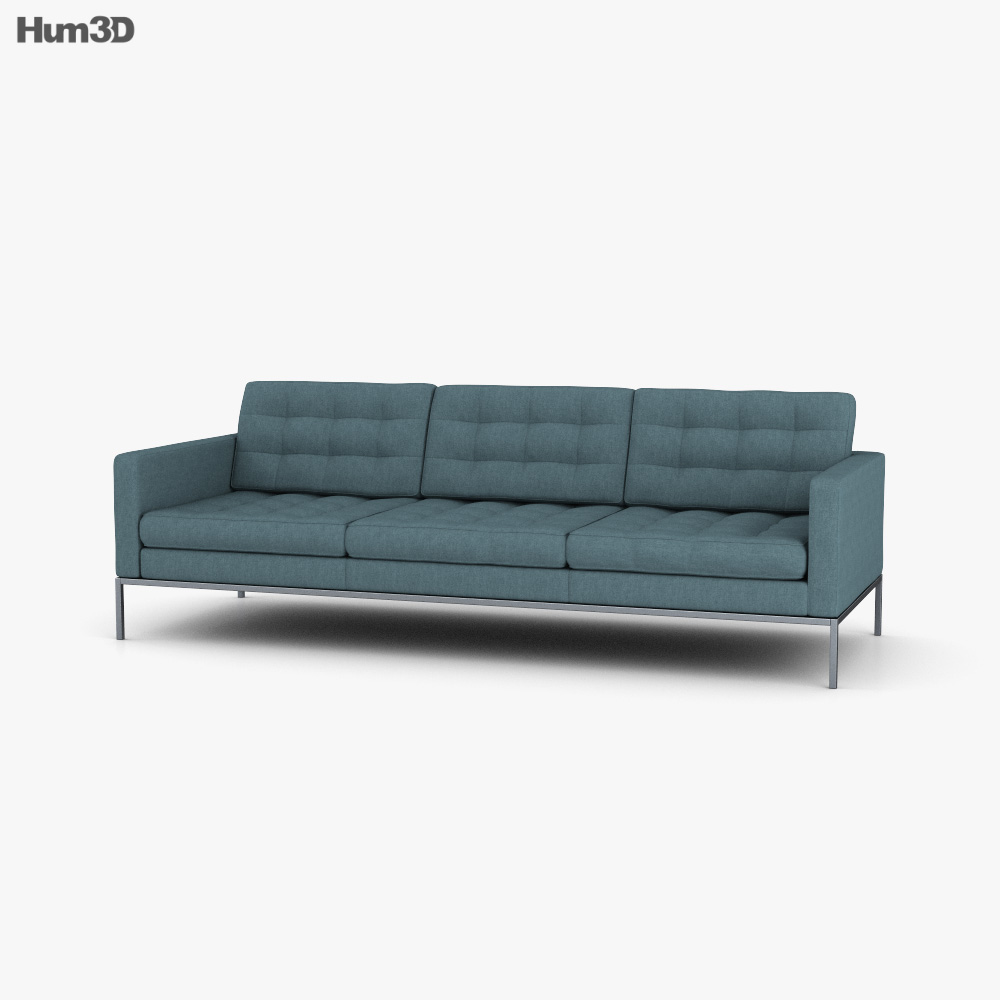 Knoll Florence Relaxed Sofa 3D model