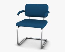 Knoll Cesca Upholstered Armchair 3D model