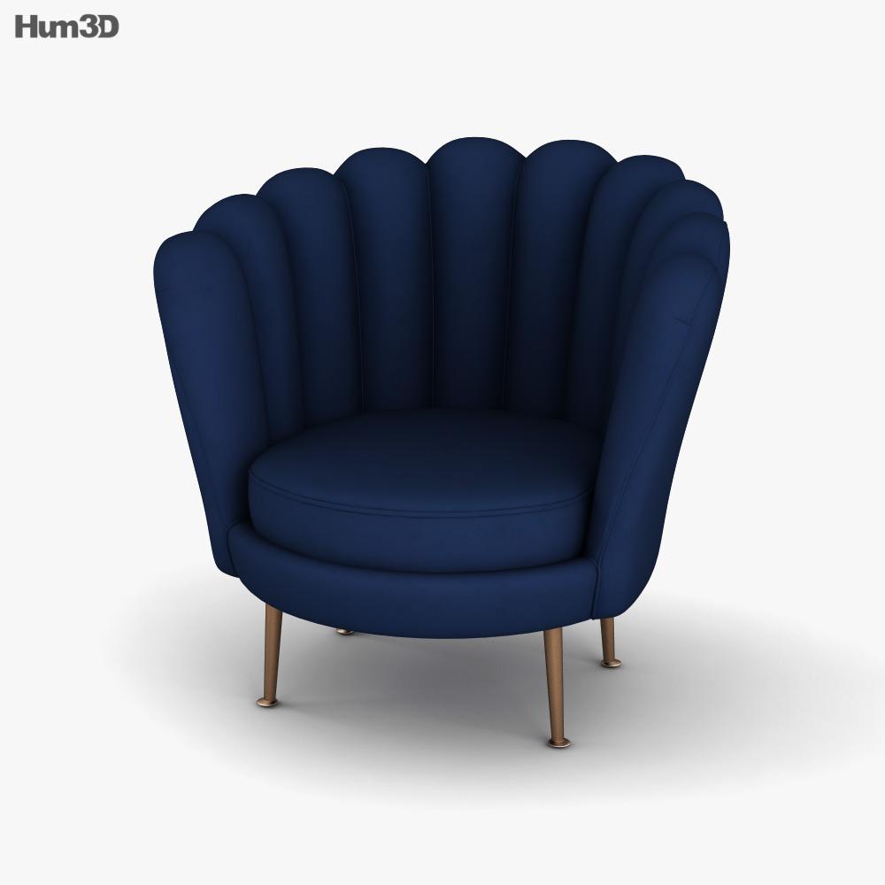 Lene Bjerre Santena Chair 3D model
