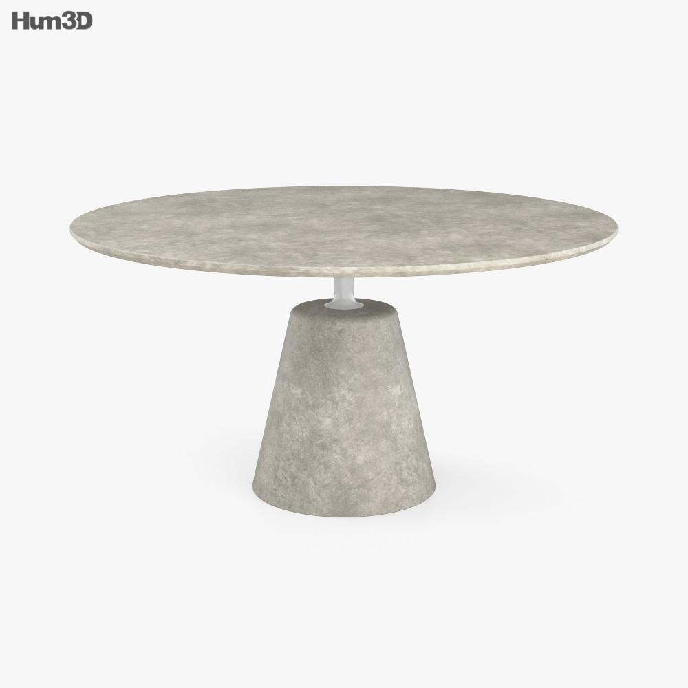 MDF Itali Rock Table 3D model