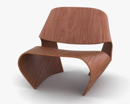 Made In Ratio Cowrie Chair 3D model