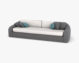 Manutti Kobo Garden Sofa 3D model