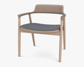 Maruni Hiroshima Lounge chair 3D model