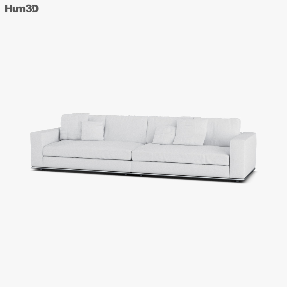 Minotti Hamilton Sofa 3D model