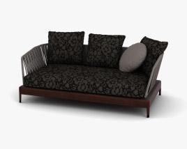 Minotti Indiana Sofa 3D model