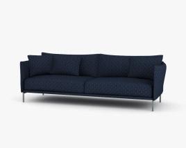 Moroso Gentry Sofa 3D model