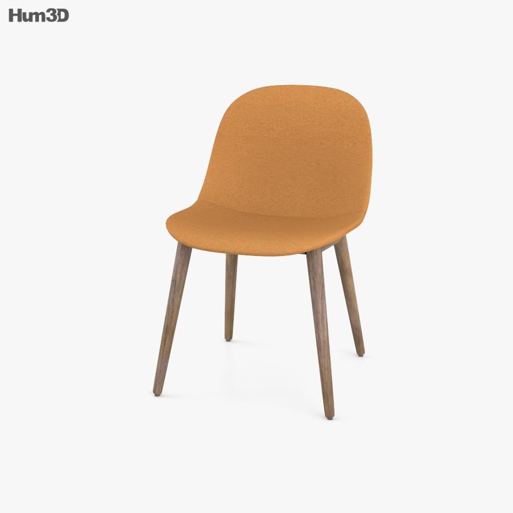 Muuto Fiber Side chair 3D model