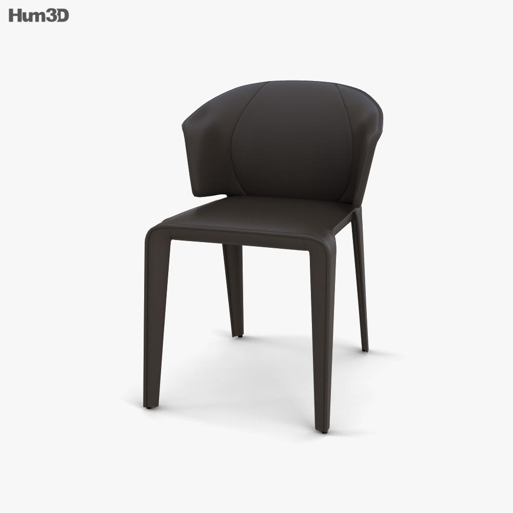 Natuzzi Atta Chair 3D model