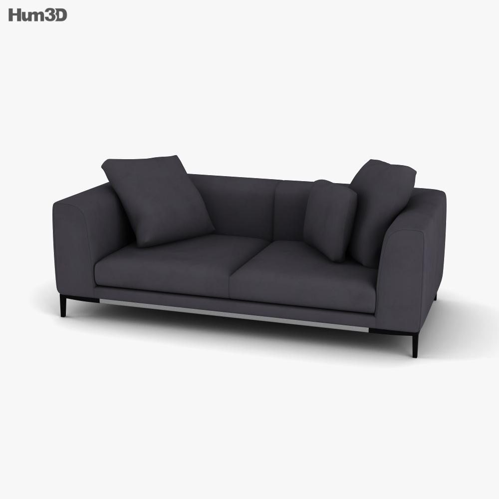 Natuzzi Trevi Sofa 3D model