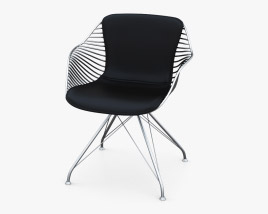 Overgaard and Dyrman Wire Dining Chair 3D model