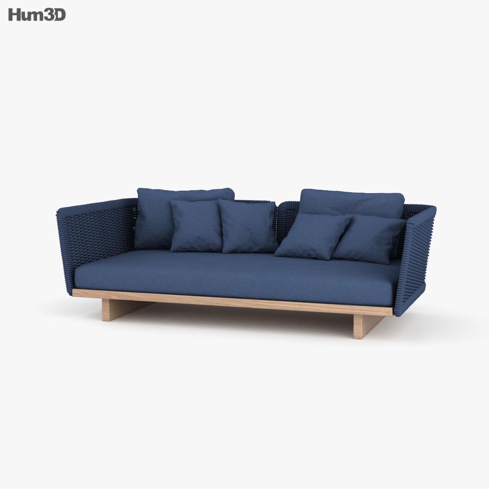 Paola Lenti Sabi Sofa 3D model