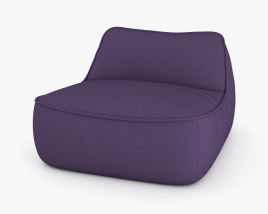 Paola Lenti Float Chair 3D model
