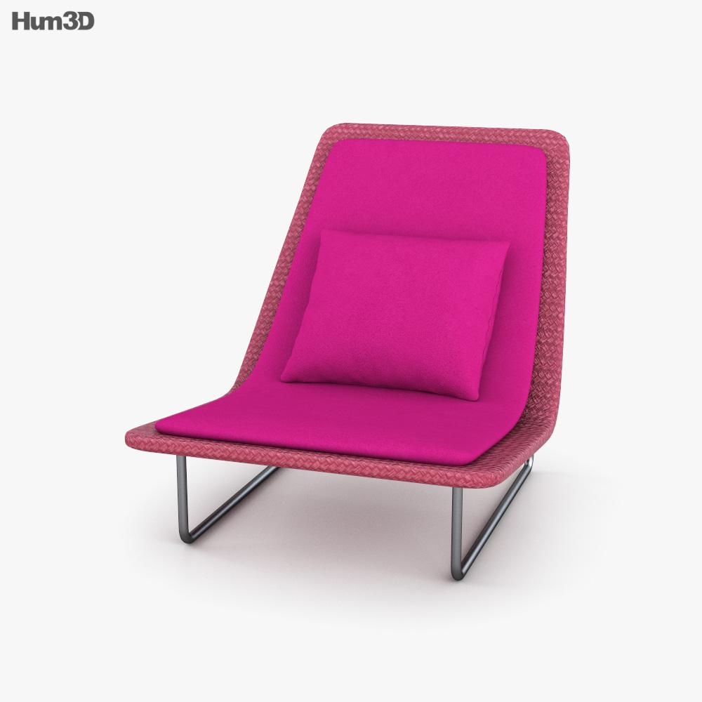 Paola Lenti Sand Armchair 3D model