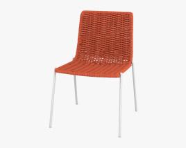 Paola Lenti Kiti Chair 3D model