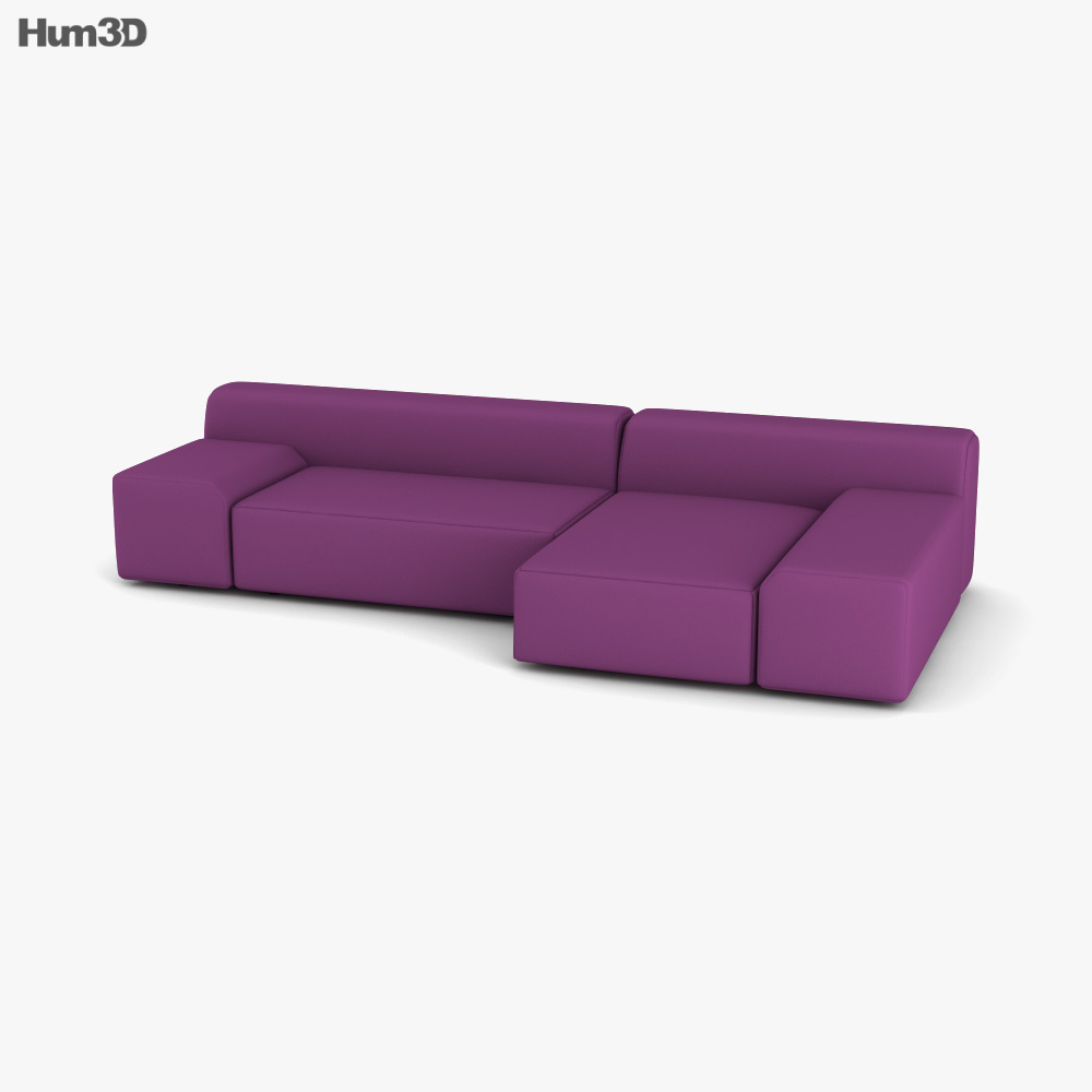 Paola Lenti All Time Sofa 3D model