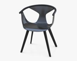 Pedrali Fox Chair 3D model