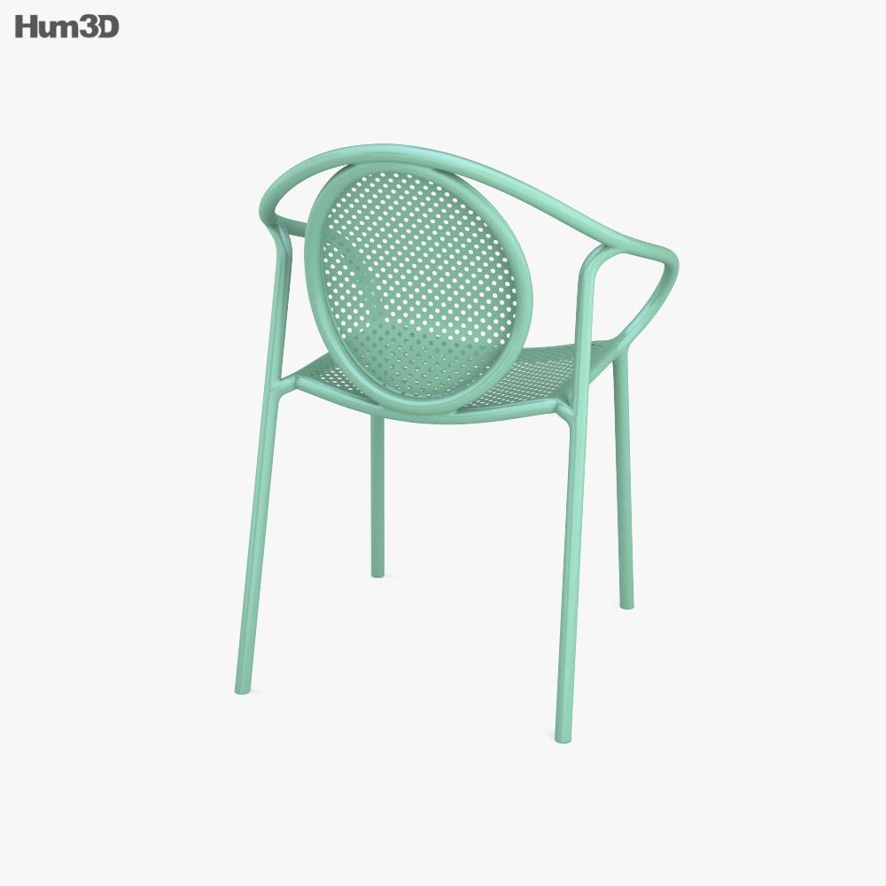 Pedrali Remind 3735 Garden Armchair 3d model