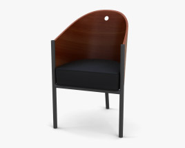 Philippe Starck Costes Chair 3D model
