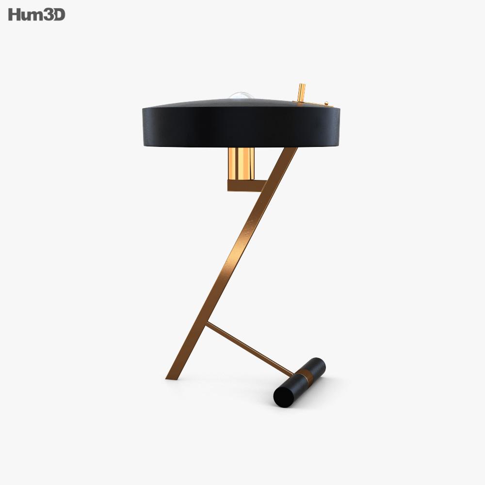 Phillips Lamp Model Z 3D model