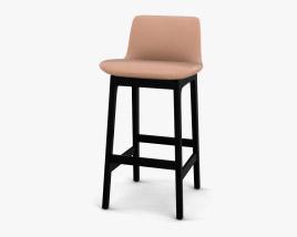 Poliform Ventura Bar stool 3D model
