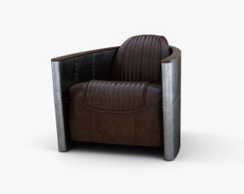 Restoration Hardware Aviator Cadeira Modelo 3d