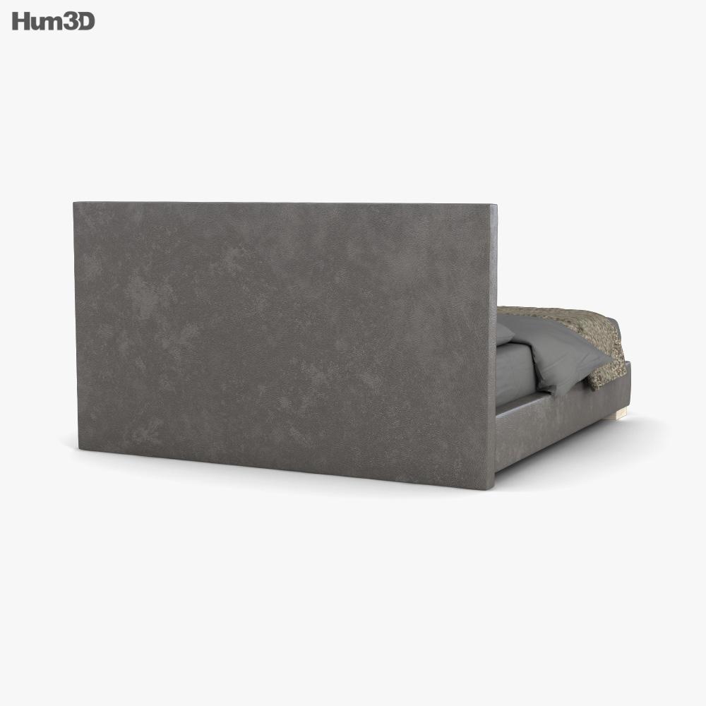 Restoration Hardware Modena Panel bed 3d model