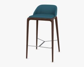 Roche Bobois Brio Bar stool 3D model