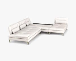Roche Bobois Scenario Sofa 3D model