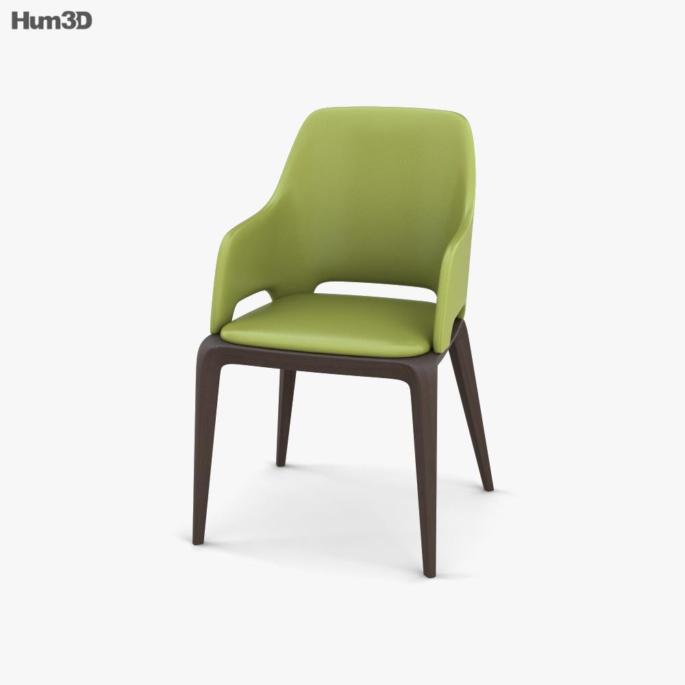 Roche Bobois Brio Bridge Chair 3D model