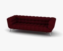 Roche Bobois Profile Sofa 3D model
