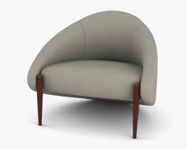 Roche Bobois Walrus Armchair 3D model