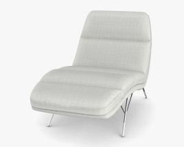 Roche Bobois Calibri Lounge Chair 3D model
