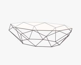 Roche Bobois Precious Cocktail Table 3D model